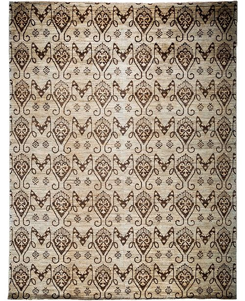"""Timeless Rug Designs CLOSEOUT! One of a Kind OOAK3854 Bone 9' x 11'10"""" Area Rug"""
