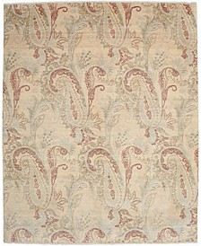 """CLOSEOUT! One of a Kind OOAK2667 Cream 8'1"""" x 9'10"""" Area Rug"""