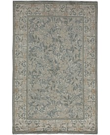 """CLOSEOUT! One of a Kind OOAK3480 Silver 4'7"""" x 7'1"""" Area Rug"""