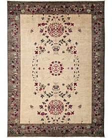 """CLOSEOUT! One of a Kind OOAK3148 Cream 9'10"""" x 13'8"""" Area Rug"""
