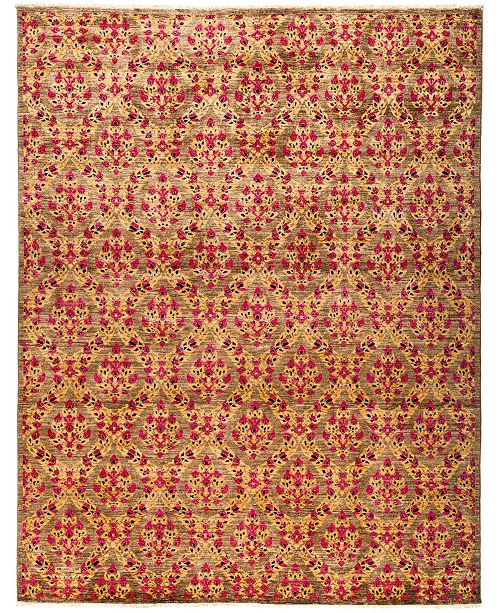 "Timeless Rug Designs CLOSEOUT! One of a Kind OOAK2989 Flax 8'2"" x 10'3"" Area Rug"
