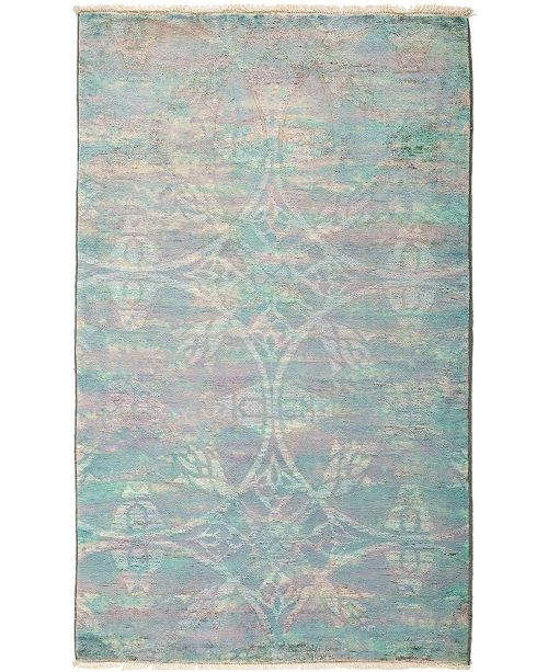 """Timeless Rug Designs CLOSEOUT! One of a Kind OOAK2959 Multi 3'2"""" x 5'2"""" Area Rug"""