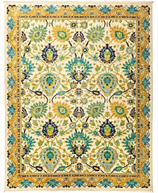 "CLOSEOUT! One of a Kind OOAK2923 Yellow 8' x 9'10"" Area Rug"