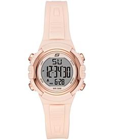 Truro Digital Plastic Watch 33MM