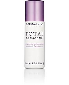 Total Nonscents Ultra-Gentle Antiperspirant, 3.04-oz.