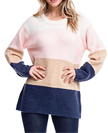 Colorblocked Oversized Sweater