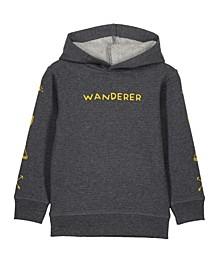 Toddler, Little and Big Boys Liam Hoodie Sweatshirt