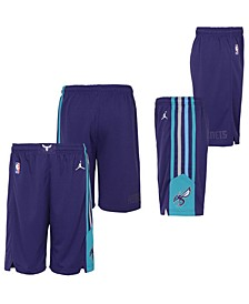 Big Boys Charlotte Hornets Statement Swingman Shorts