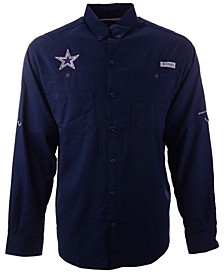 Men's Dallas Cowboys Tamiami II Long Sleeve Button Up Shirt