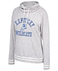 Women's Kentucky Wildcats Long Weekend Cowl Neck Sweatshirt