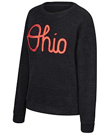 Women's Ohio State Buckeyes Boucle Crew Sweatshirt