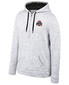 Men's Ohio State Buckeyes Timberline Half-Zip Hooded Sweatshirt