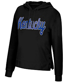 Women's Kentucky Wildcats Snap Hem Hooded Sweatshirt