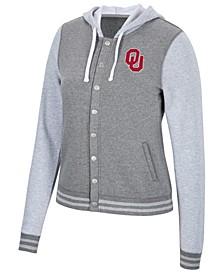 Women's Oklahoma Sooners Varsity Snap Jacket