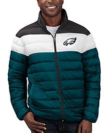Men's Philadelphia Eagles Cold Front Quilted Polyfill Jacket