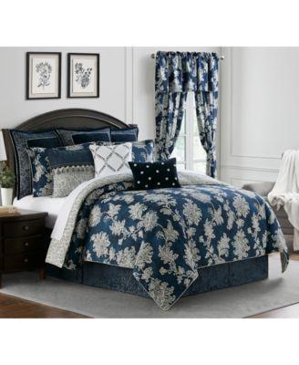 Kylie King 4 Piece Comforter Set