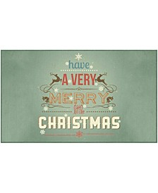 Merry Little Christmas Accent Rugs