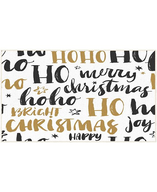"""Mohawk Christmas Wishes Accent Rug, 18"""" x 30"""""""