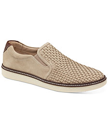 Johnston & Murphy Men's McGuffey Woven Slip-On Sneakers