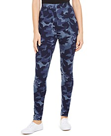 Camouflage-Print Leggings, Created for Macy's