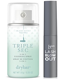Receive a Free Trial-Size Lash Blowout Mascara and Trial-Size Drybar Triple Sec 3-in-1 Finishing Spray with any $30 It Cosmetics or Drybar Purchase!