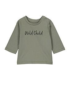 Baby Boys and Girl Jamie Long Sleeve Tee Shirt