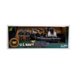 Excite U.s. Navy Seals Figure Combat Rubber Raiding Craft