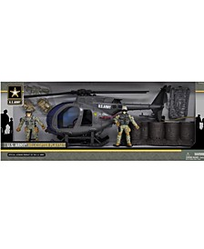 U.S. Army Helicopter Playset with 2 Soldier Figures