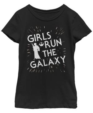 Fifth Sun Star Wars Big Girl's Girls Run The Galaxy Short Sleeve T-Shirt