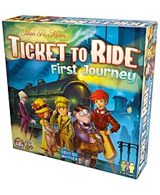 Ticket To Ride First Journey Strategy Board Game