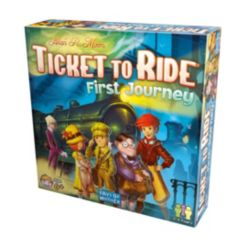 Asmodee Editions Ticket To Ride First Journey Strategy Board Game