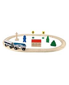 Amtrak Wooden Train Set