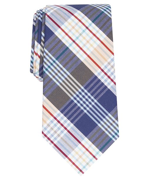 Perry Ellis Men's Alethia Classic Plaid Tie