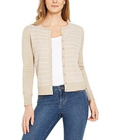 Button-Down Textured Stitch Cardigan Sweater, Created for Macy's