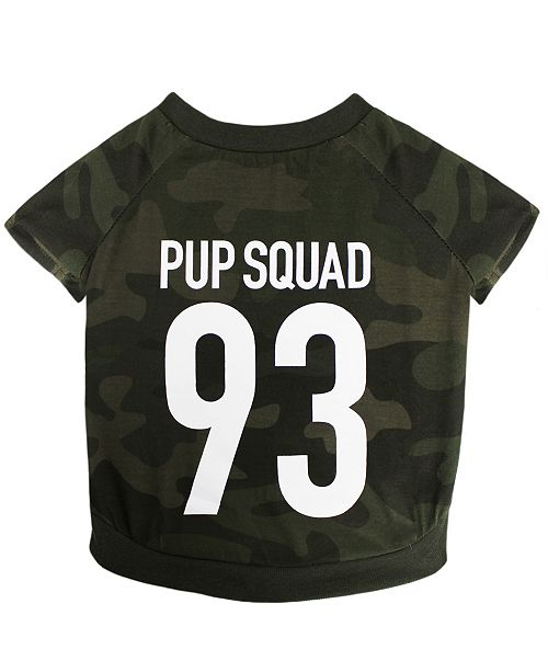 Pets First Pet Tee - Pup Squad Small