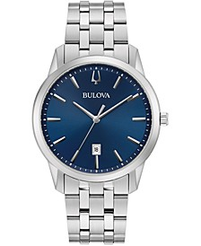 Men's Sutton Stainless Steel Bracelet Watch 40mm