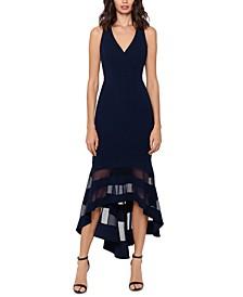Petite Crepe Midi Dress