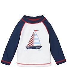Baby Boys Sail Boat Rash Guard