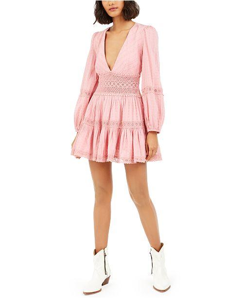 Free People The Delightful Mini Dress