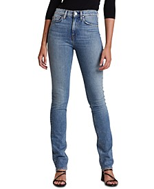 Holly High-Rise Straight-Leg Jeans