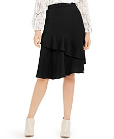 Petite Tiered Ruffled Skirt, Created For Macy's
