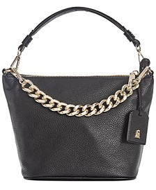 Ira Top Zip Chain Crossbody