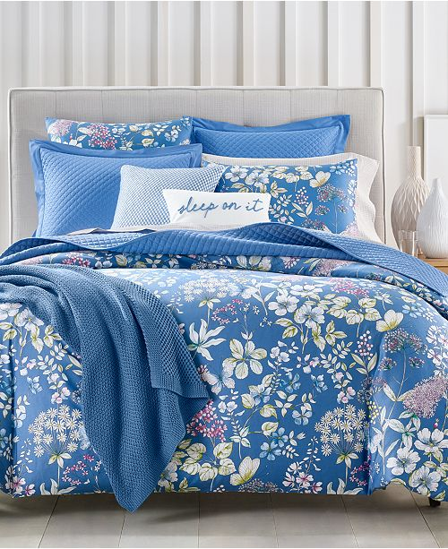 Charter Club Meadow 300-Thread Count Bedding Collection, Created for Macy's