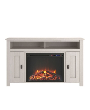 """A Design Studio Glen Orchard Electric Fireplace Tv Console For Tvs Up To 50"""" In Ivory"""