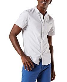 Men's Slim-Fit Textured Shirt