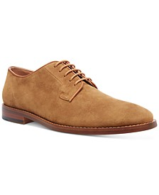 Men's Suede Eddie Oxfords