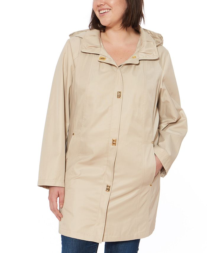 Jones New York - Hooded Raincoat