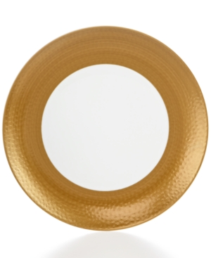 Closeout! Mikasa Hammersmith Gold Salad Plate