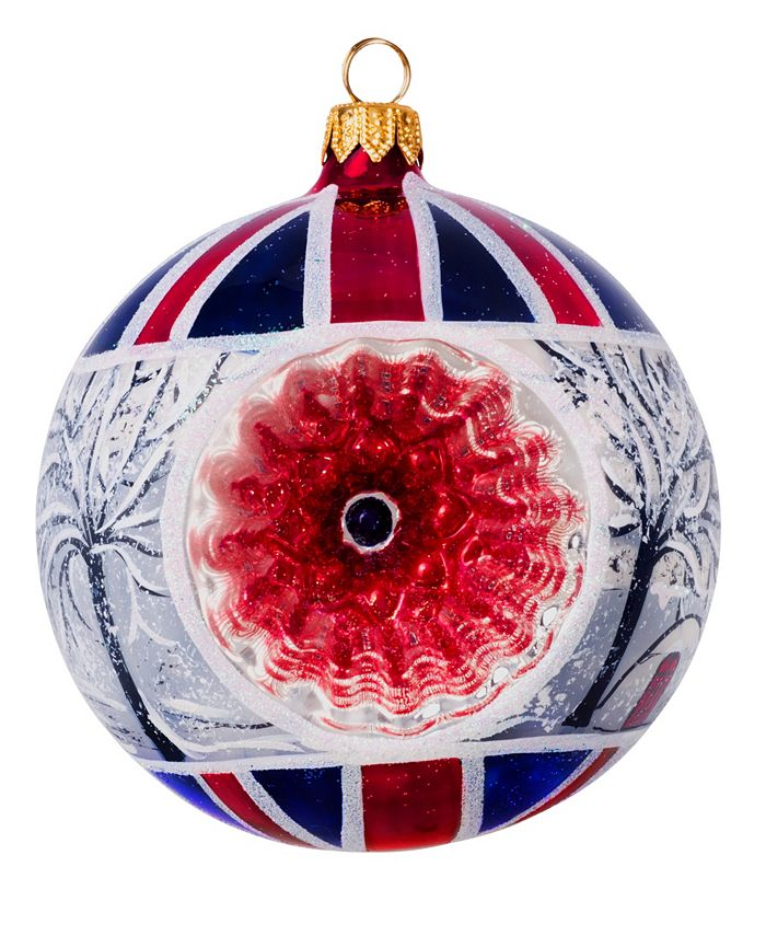 Joy to the World - Vintage Reflector Ball - London Winter ..