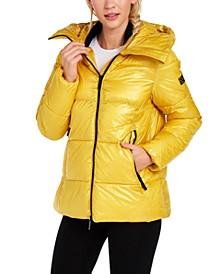 Oversized Hooded Puffer Jacket